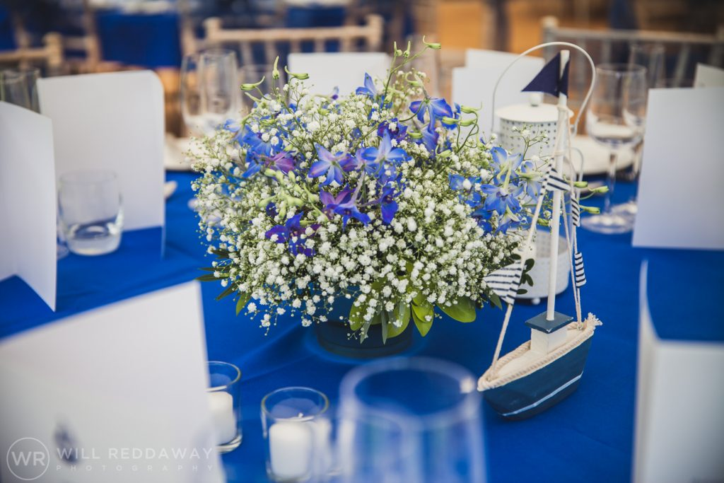 Farringdon Marquee Wedding | Devon Wedding | Table Decoration
