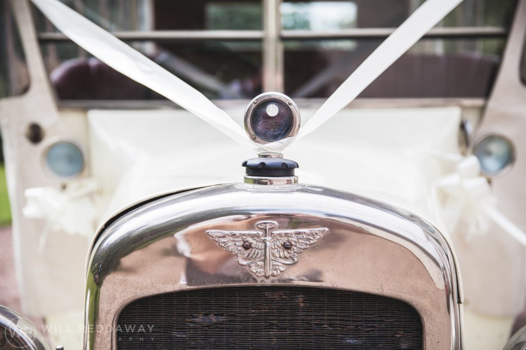 Farringdon Marquee Wedding | Devon Wedding | Wedding Car