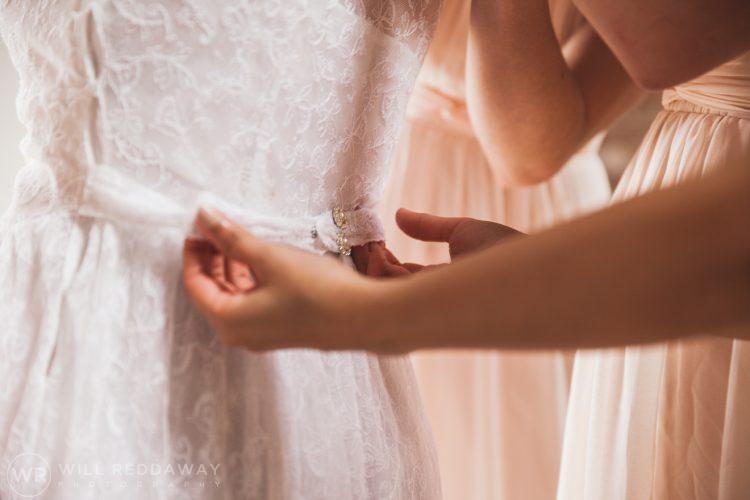 Farringdon Marquee Wedding | Devon Wedding Photographer | Wedding Dress