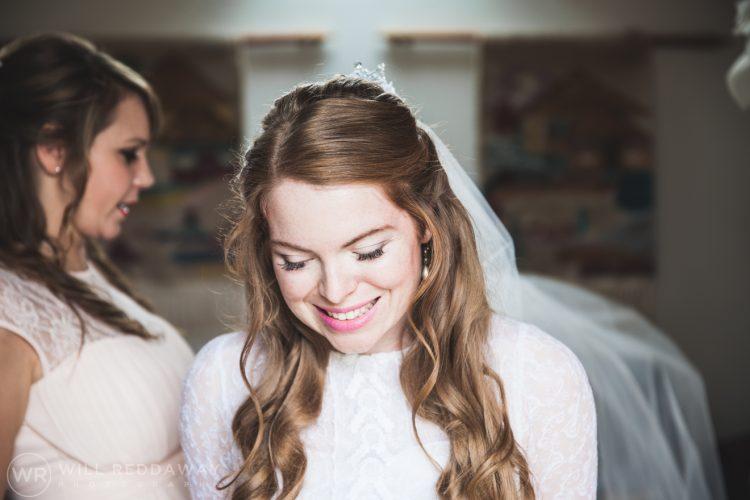 Farringdon Marquee Wedding | Devon Wedding Photographer | Bride
