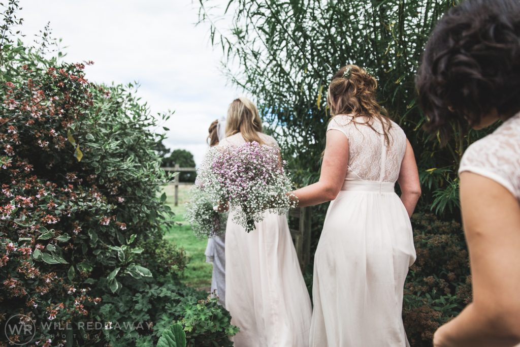 Farringdon Marquee Wedding | Devon Wedding Photographer | Bridesmaids