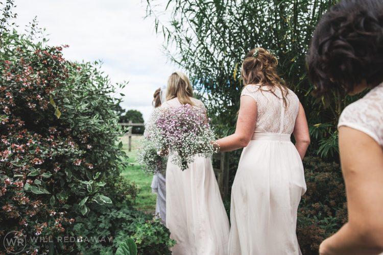 Farringdon Marquee Wedding | Devon Wedding Photographer | Bridesmaids