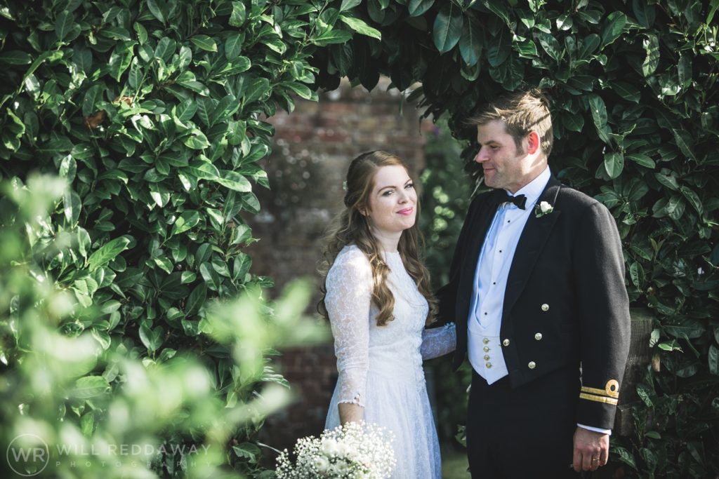 Farringdon Marquee Wedding | Devon Wedding Photographer | Bride & Groom