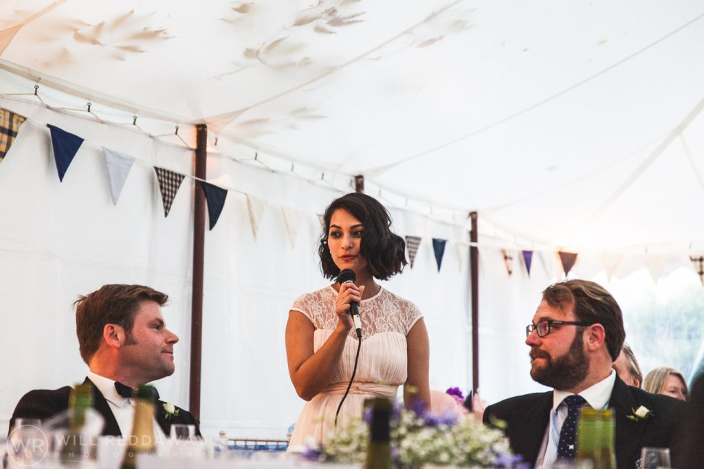 Farringdon Marquee Wedding | Devon Wedding Photographer | Bridesmaid