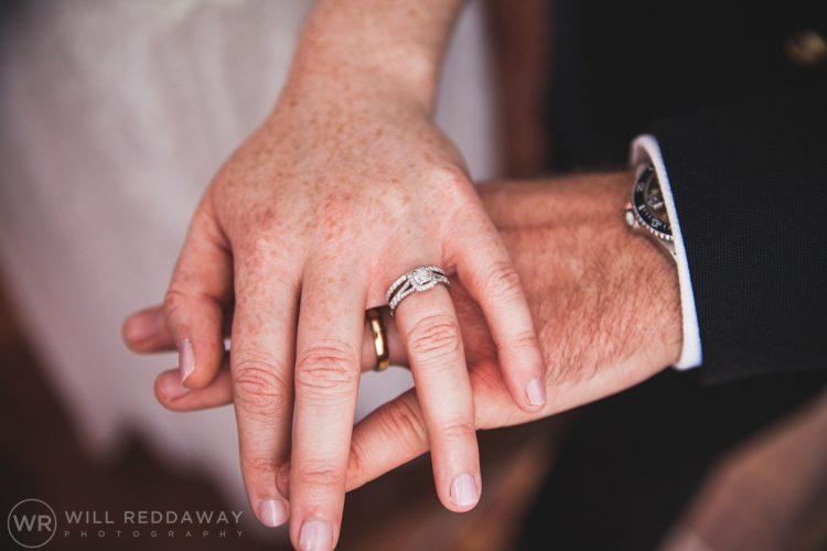 Farringdon Marquee Wedding | Devon Wedding Photographer | Rings