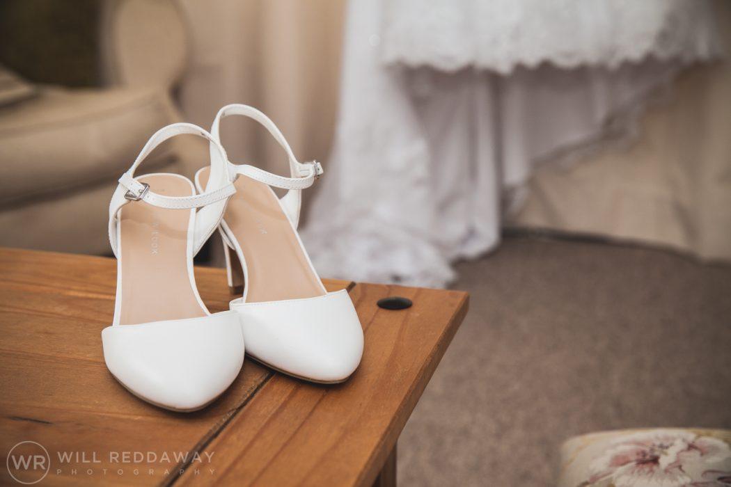 Hayne Barn Wedding | Devon Wedding Photographer | Shoes