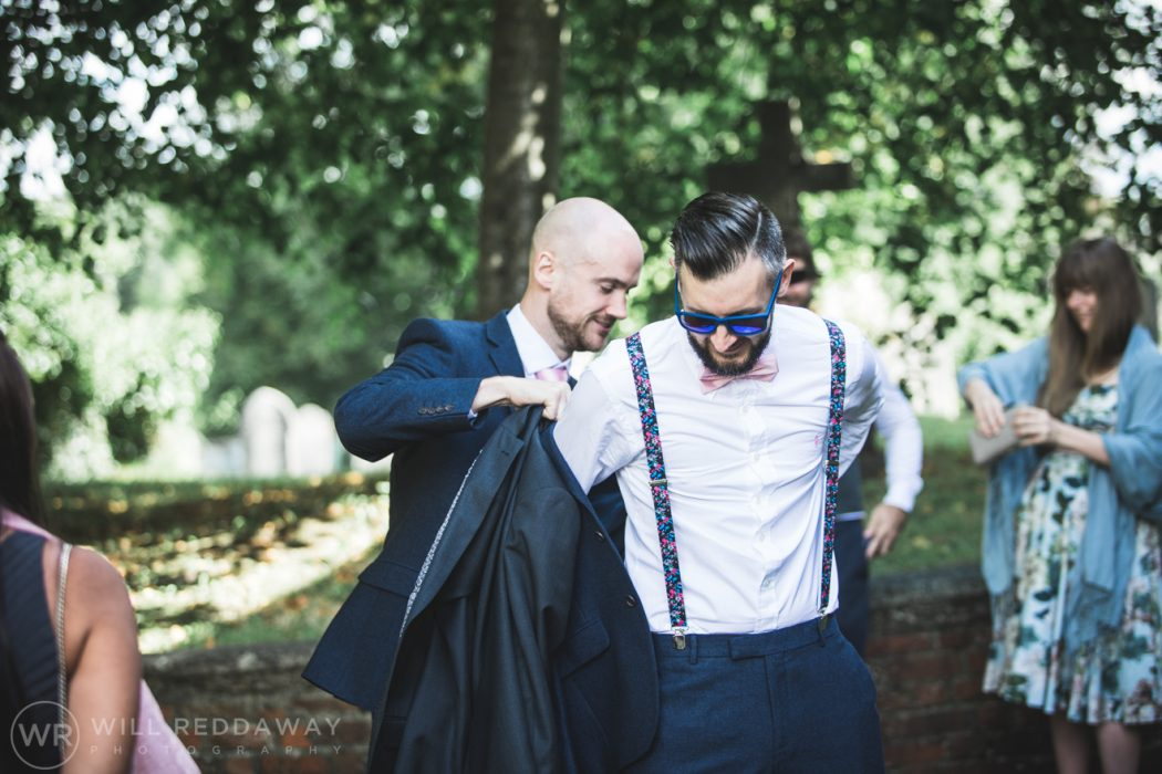 Hayne Barn Wedding | Devon Wedding Photographer | Groom