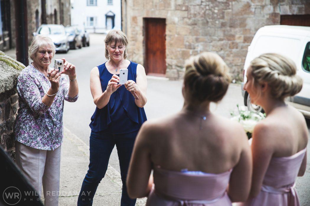 Hayne Barn Wedding | Devon Wedding Photographer | Bridesmaids