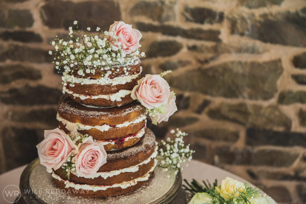 Hayne Barn Wedding | Devon Wedding Photographer | Wedding Cake