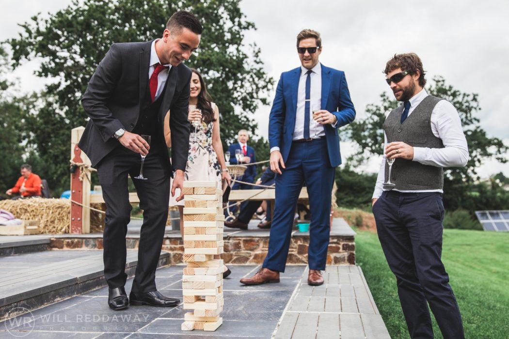 Hayne Barn Wedding | Devon Wedding Photographer | Wedding Games