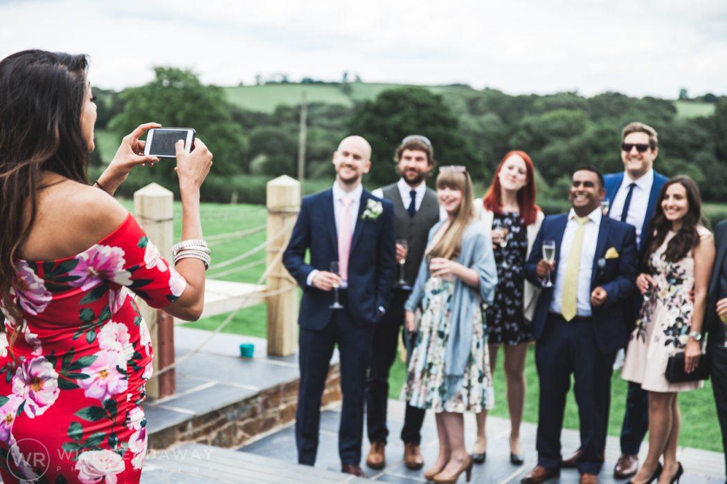 Hayne Barn Wedding | Devon Wedding Photographer | Wedding Guests