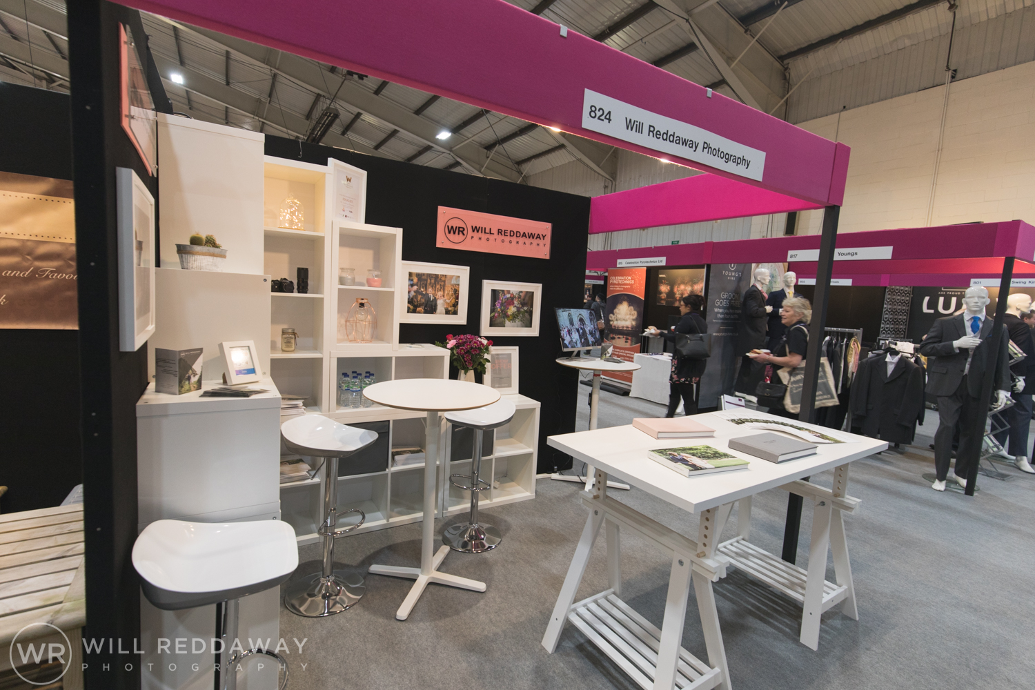 Devon Wedding Photographer | Bride The Wedding Show | Wedding Show Stand