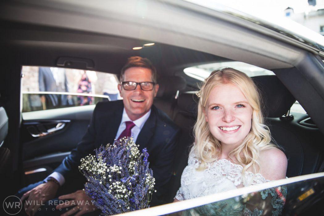 Brunel Manor Wedding| Devon Wedding Photographer | Bride & Father