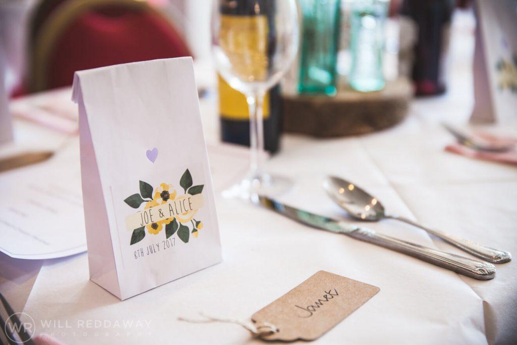 Brunel Manor Wedding | Devon Wedding Photographer | Wedding Decorations