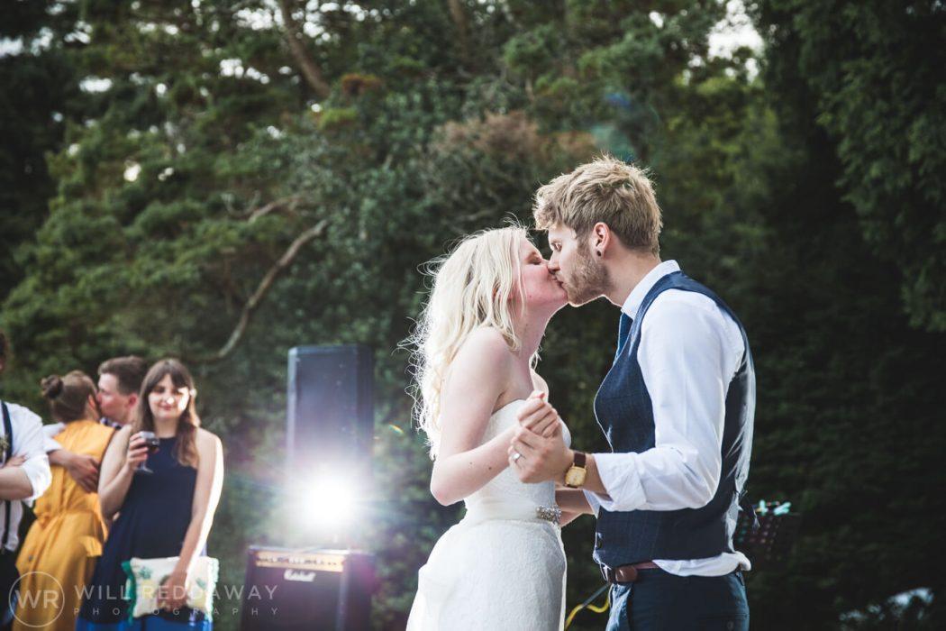 Brunel Manor Wedding | Devon Wedding Photographer | Outdoors First Dance