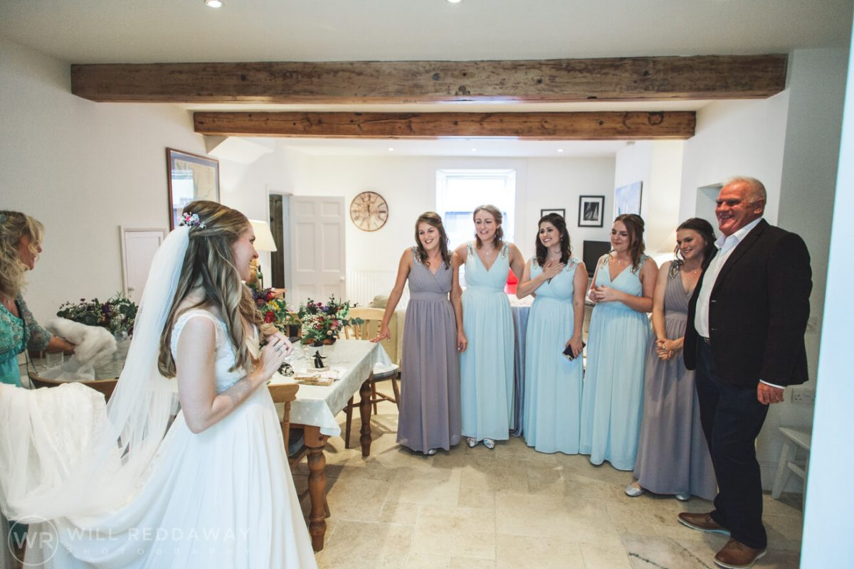 The Barn At South Milton Wedding | Devon Wedding Photographer | Bridal Preparations