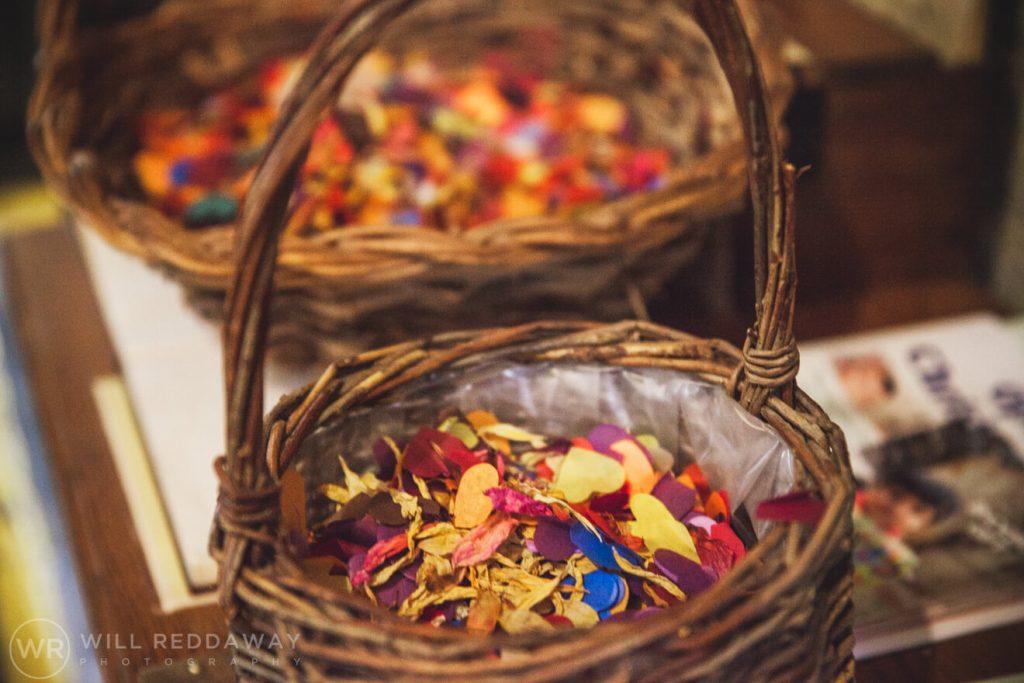 The Barn At South Milton Wedding | Devon Wedding Photographer | Confetti