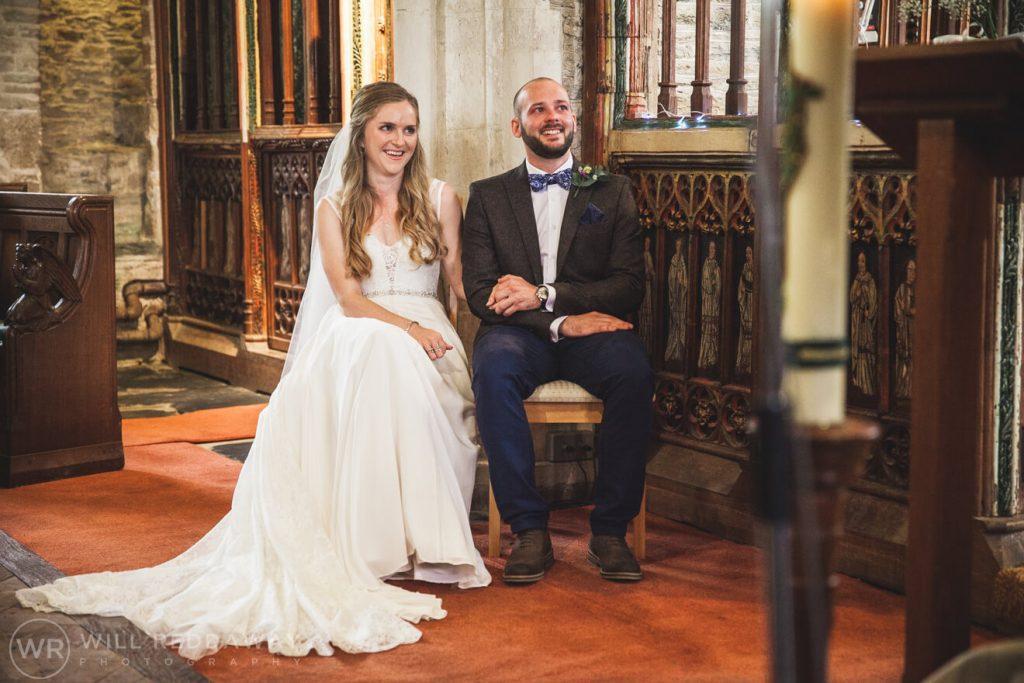 The Barn At South Milton Wedding | Devon Wedding Photographer | Church Ceremony