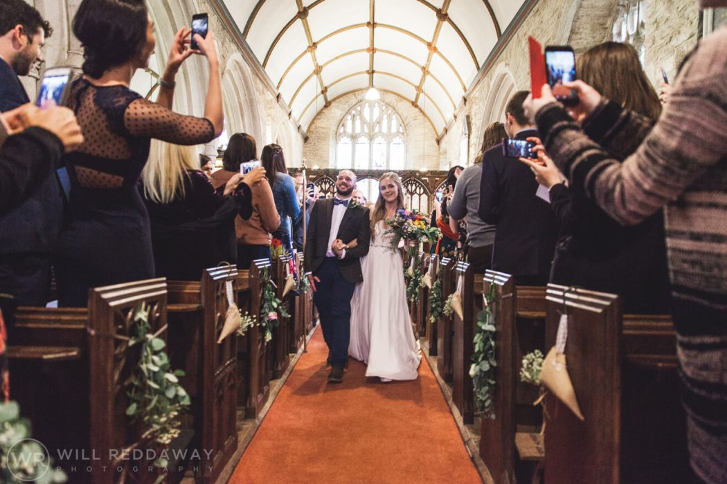 The Barn At South Milton Wedding | Devon Wedding Photographer | Church Ceremony