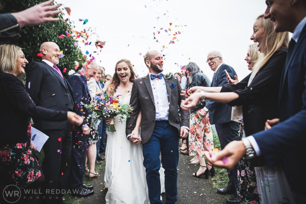 The Barn At South Milton Wedding | Devon Wedding Photographer | Bride & Groom
