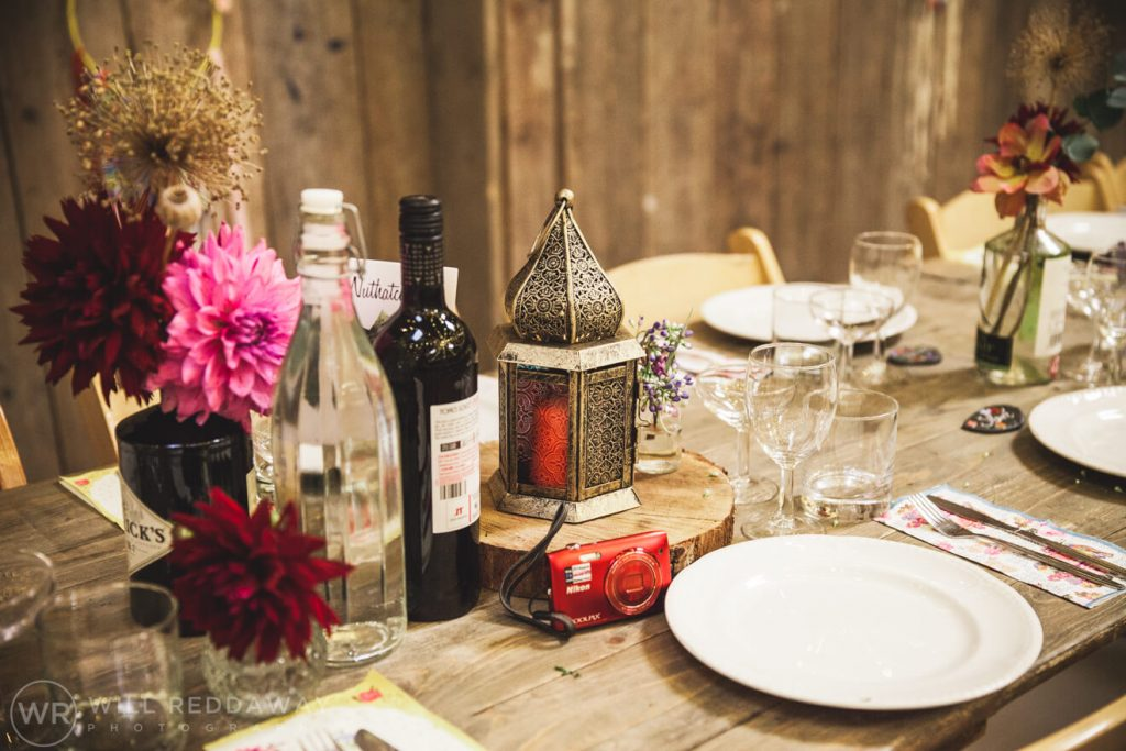 The Barn At South Milton Wedding | Devon Wedding Photographer | Wedding Decoration