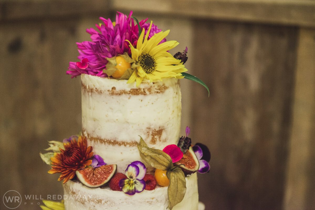The Barn At South Milton Wedding | Devon Wedding Photographer | Wedding Cake