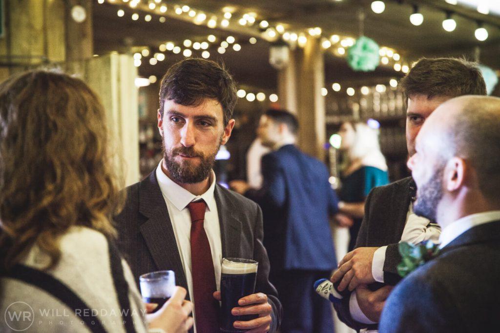 The Barn At South Milton Wedding | Devon Wedding Photographer | Wedding Guest