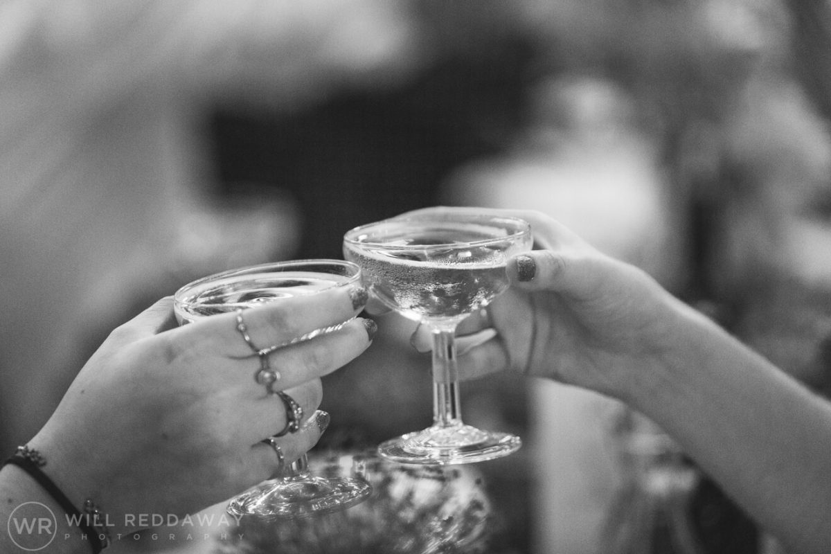 The Barn At South Milton Wedding | Devon Wedding Photographer | Wedding Toasts