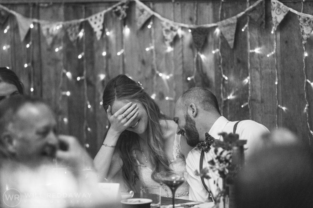 The Barn At South Milton Wedding | Devon Wedding Photographer | Bestmans Speech
