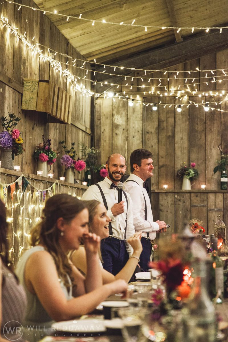 The Barn At South Milton Wedding | Devon Wedding Photographer | Bestmans Speech