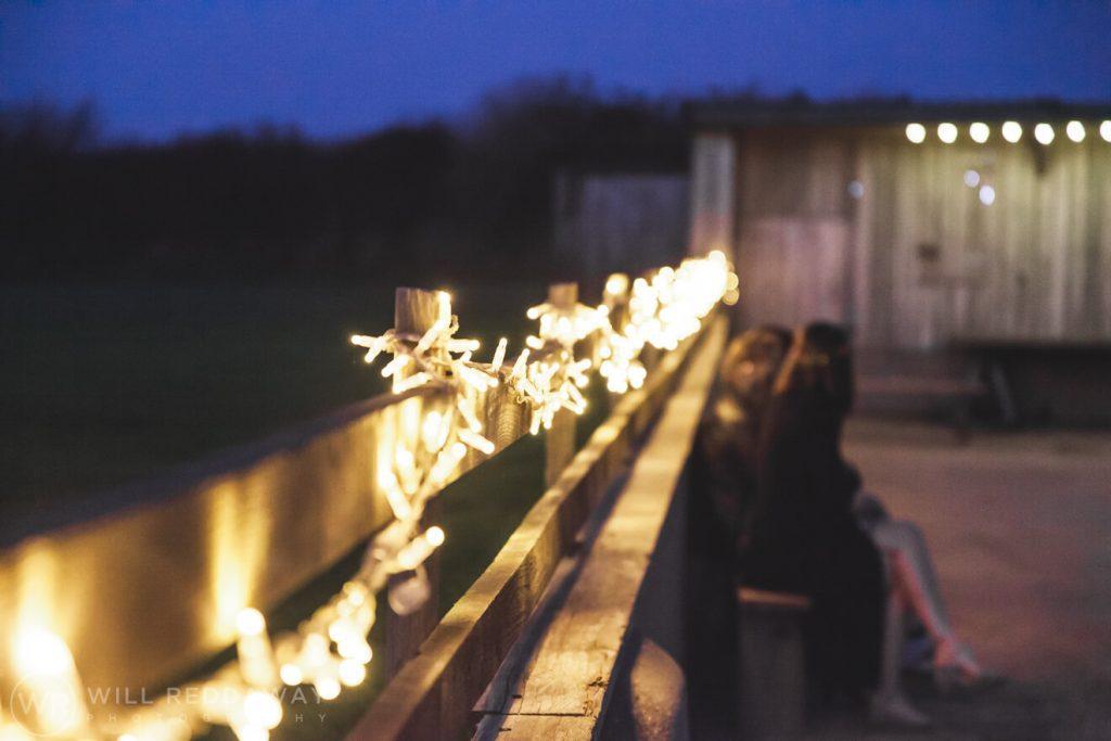 The Barn At South Milton Wedding | Devon Wedding Photographer | Fairy Lights