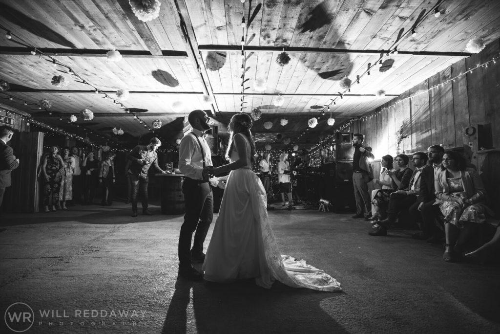 The Barn At South Milton Wedding | Devon Wedding Photographer | First Dance