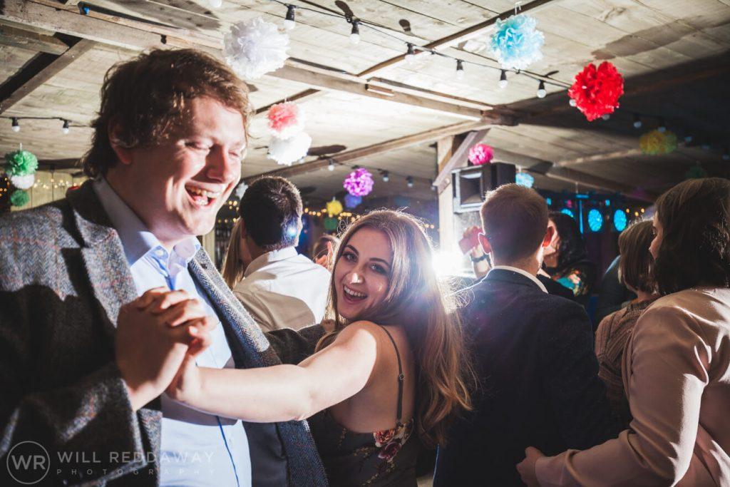 The Barn At South Milton Wedding | Devon Wedding Photographer | First DanceThe Barn At South Milton Wedding | Devon Wedding Photographer | Guests Dancing