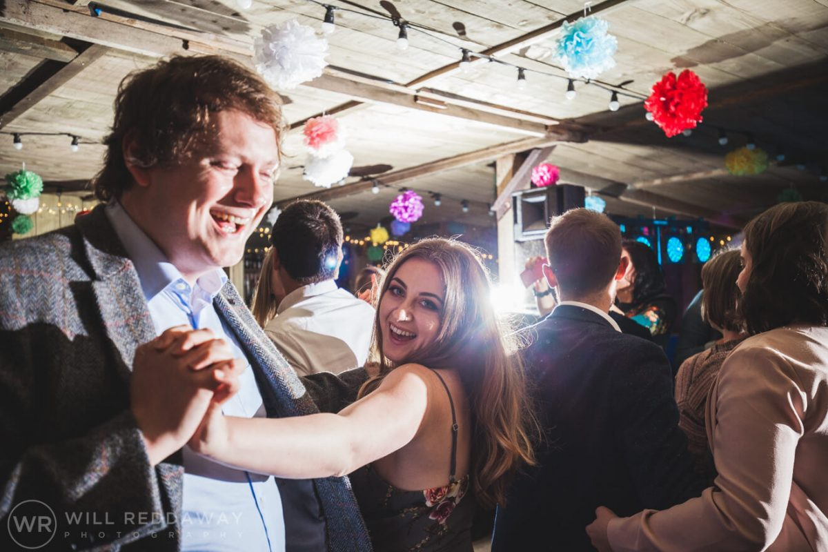 The Barn At South Milton Wedding | Devon Wedding Photographer | First DanceThe Barn At South Milton Wedding | Devon Wedding Photographer | Guests Dancing