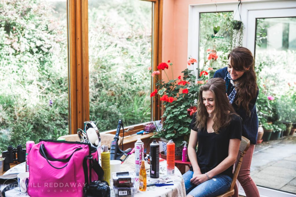 Shilstone House Wedding | Devon Wedding Photographer | Bridal Preparations