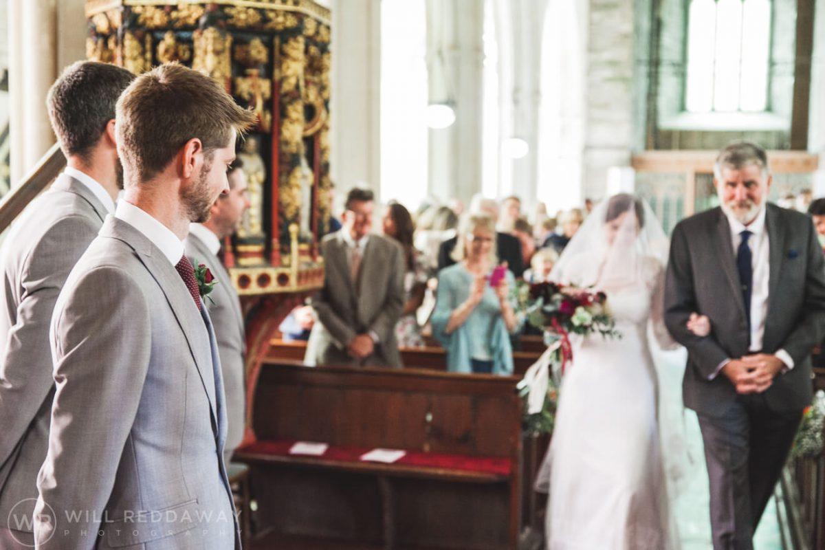 Shilstone House Wedding | Devon Wedding Photographer | Church Wedding