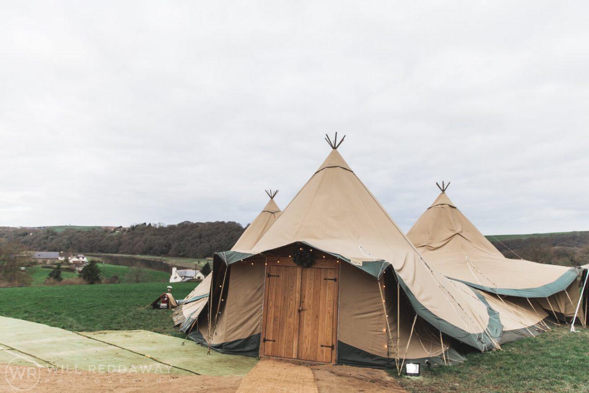 Farm Wedding | Devon Wedding Photographer | Tepee Wedding