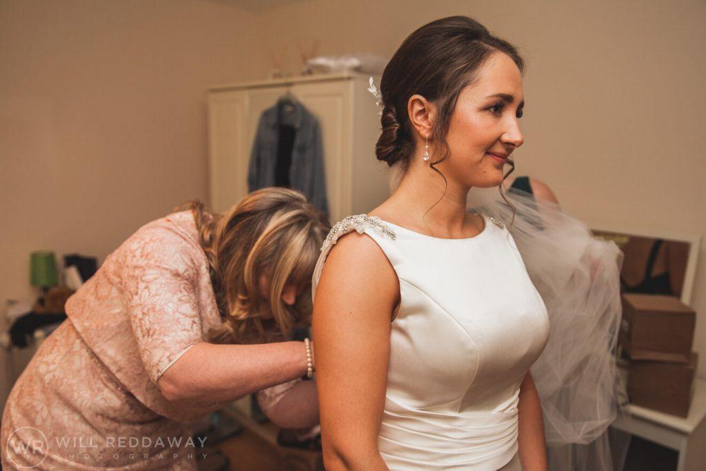 Farm Wedding | Devon Wedding Photographer | Bridal Preparations
