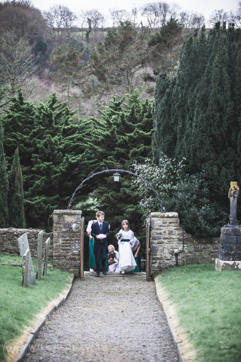 Farm Wedding | Devon Wedding Photographer | Church Ceremony