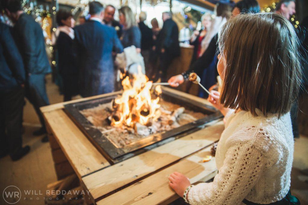 Farm Wedding | Devon Wedding Photographer | Fire Pit