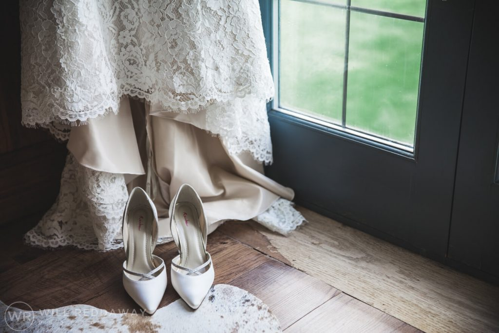 Barn Wedding | Devon Wedding Photographer | Wedding Dress