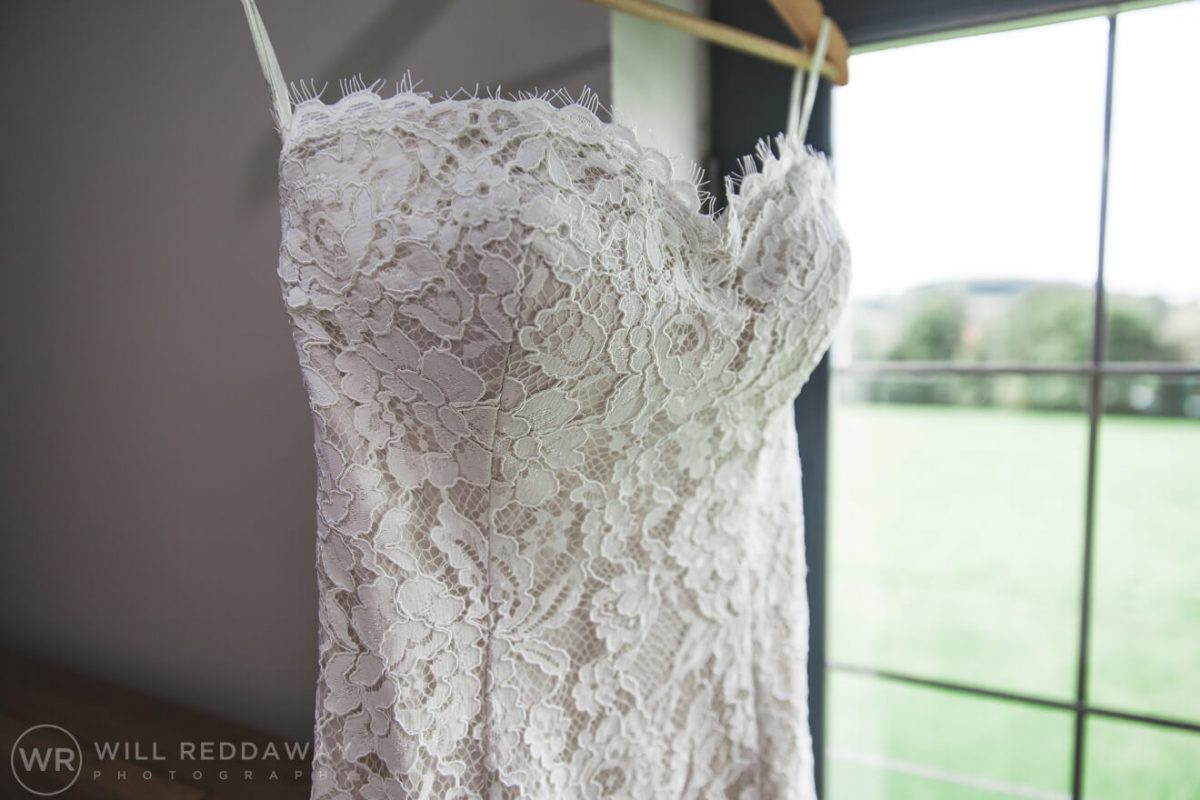 Barn Wedding   Devon Wedding Photographer   Wedding Dress