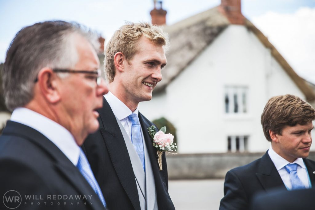 Barn Wedding | Devon Wedding Photographer | Groom