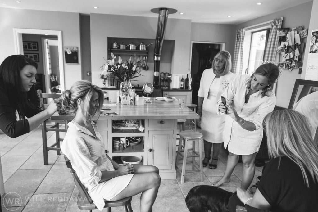 Barn Wedding | Devon Wedding Photographer | Bridal Preparations