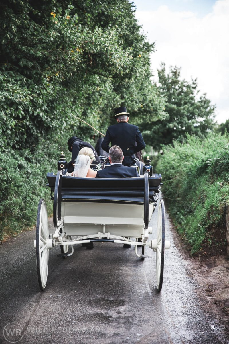 Barn Wedding | Devon Wedding Photographer | Horse & Carriage