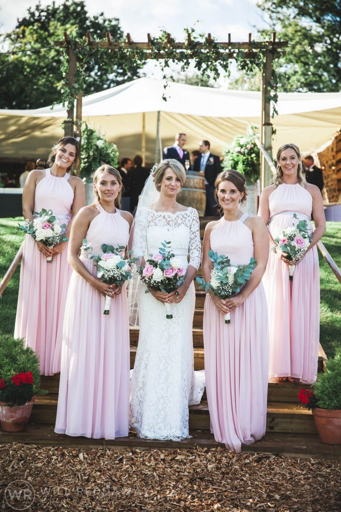 Barn Wedding | Devon Wedding Photographer | Bride & Bridesmaids