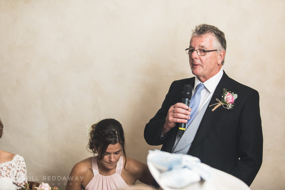 Barn Wedding | Devon Wedding Photographer | Father Of the Bride