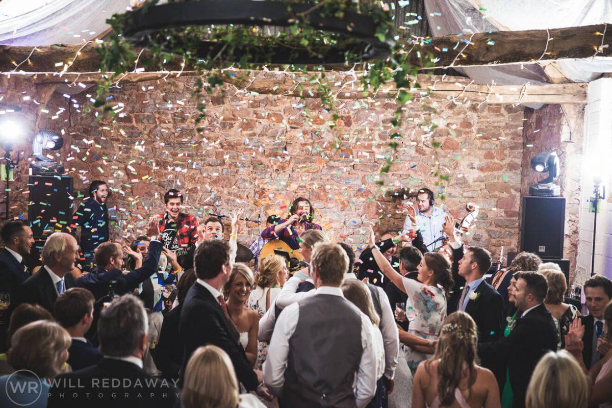 Barn Wedding   Devon Wedding Photographer   Wedding Reception