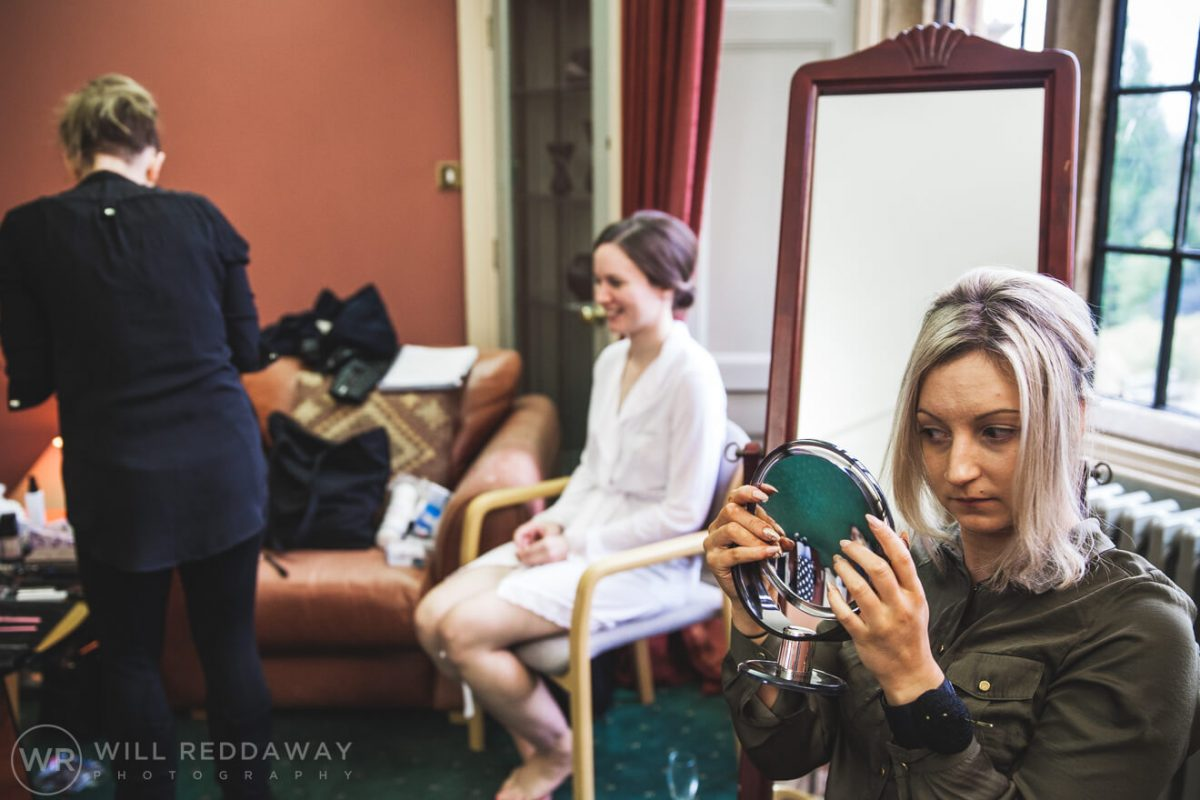 Dillington House Wedding | Devon Wedding Photographer | Wedding Make Up