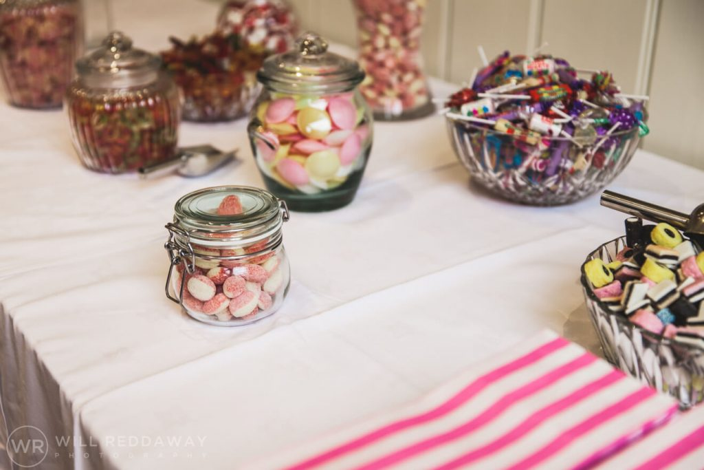 Dillington House Wedding | Devon Wedding Photographer | Sweets